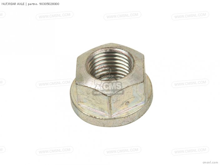 NUT,REAR AXLE