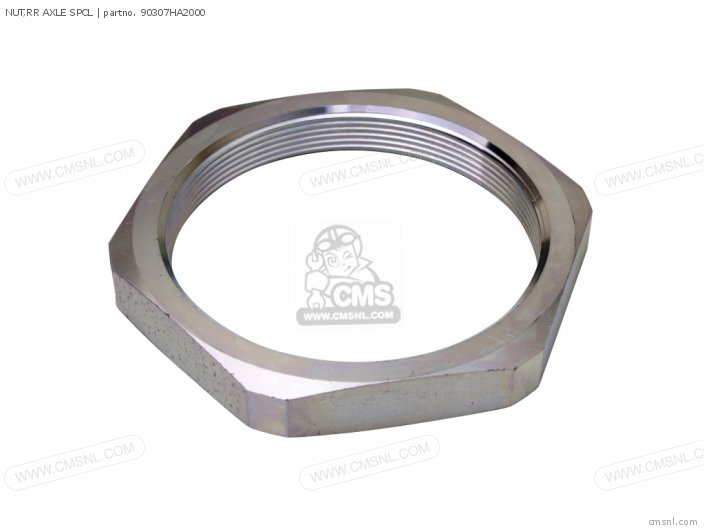 NUT,RR AXLE SPCL