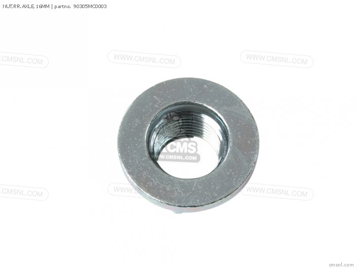 NUT,RR.AXLE,16MM