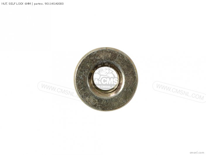 NUT, SELF LOCK 6MM