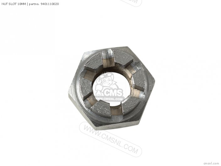 NUT SLOTTED 10MM