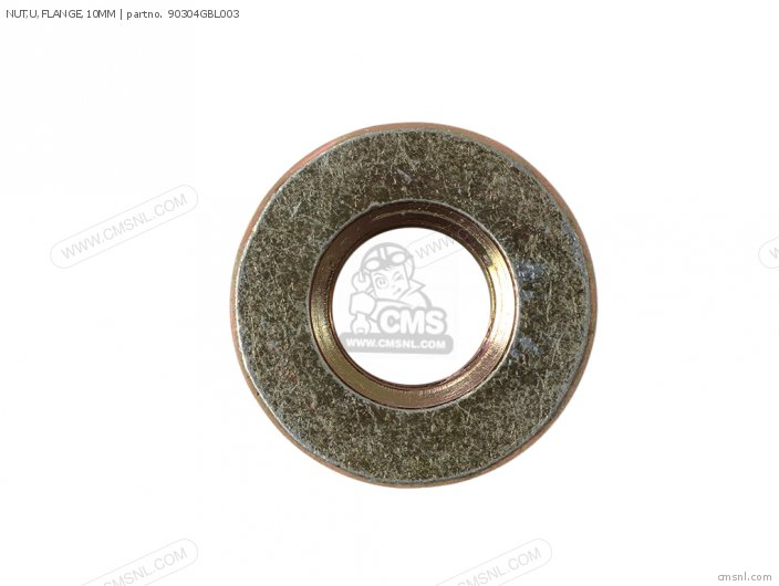 NUT,U,FLANGE,10MM