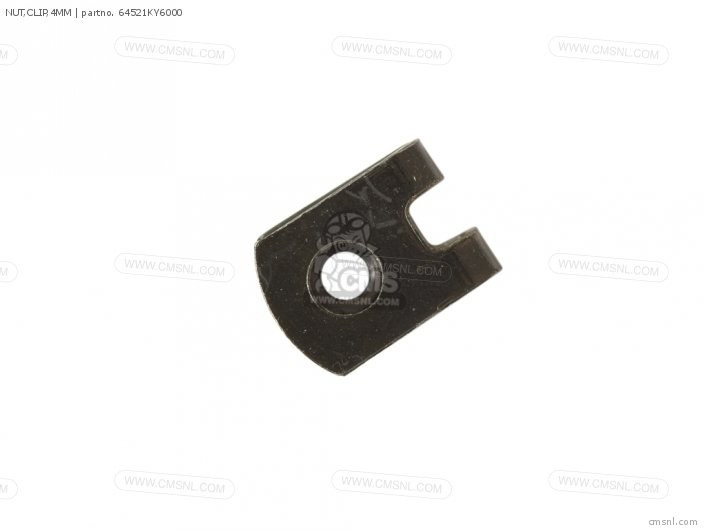 Nut, Clip, 4mm photo