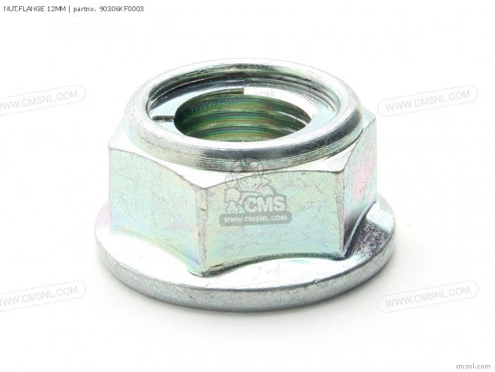 Nut, Flange 12mm photo