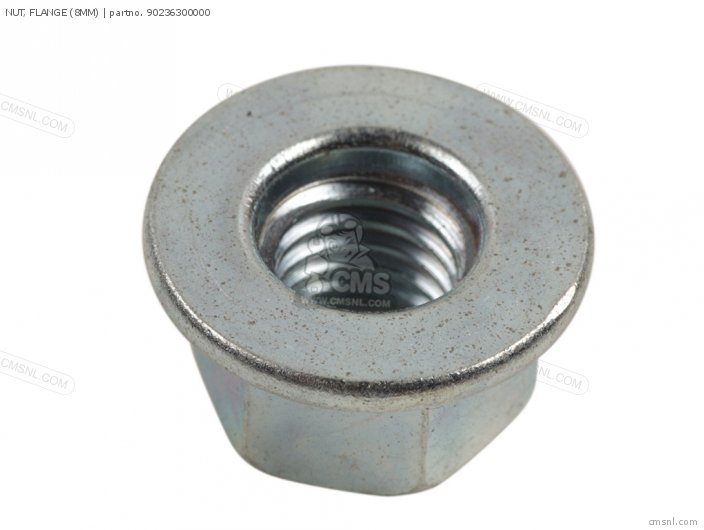 Nut, Flange (8mm) photo