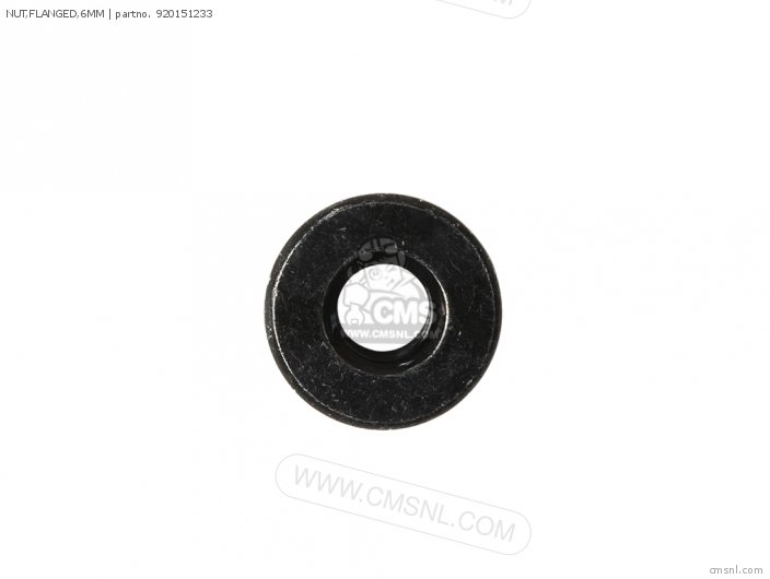 Nut, Flanged, 6mm photo
