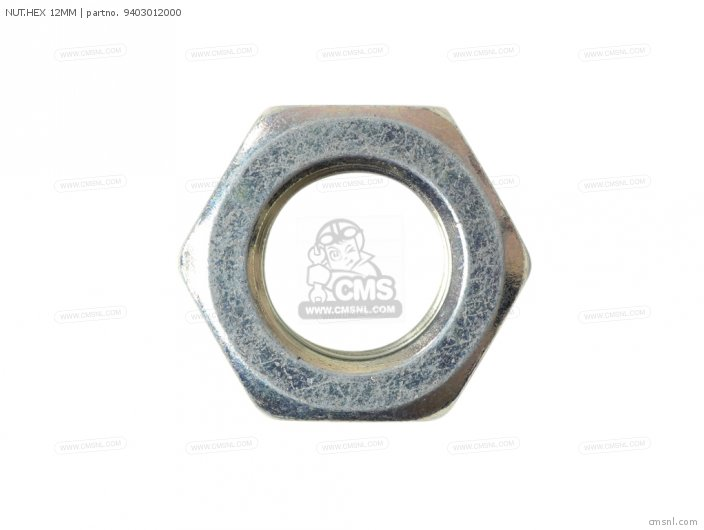 NUT HEX 12MM