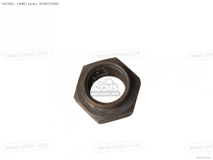 Nut, Hex.,  16mm photo