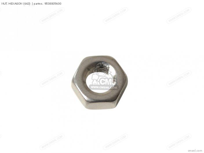 Rd400 1979 Usa Nut  Hexagon 663