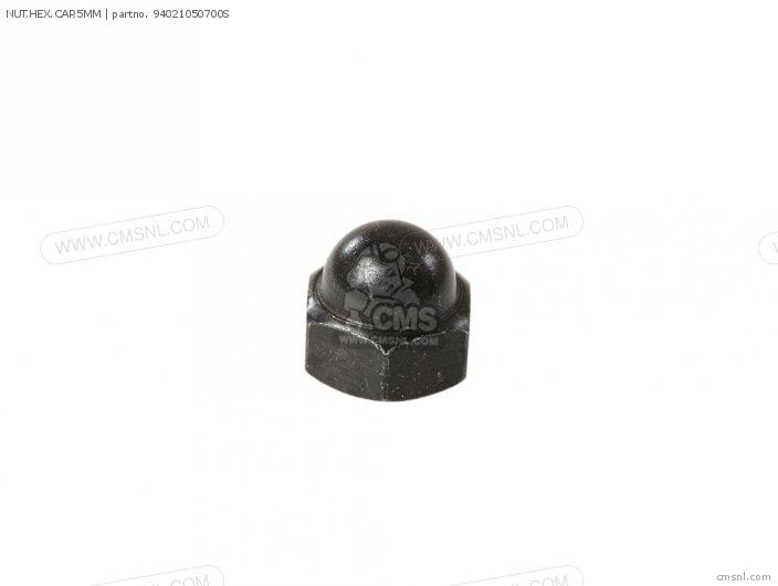 Nut, Hex.cap, 5mm photo