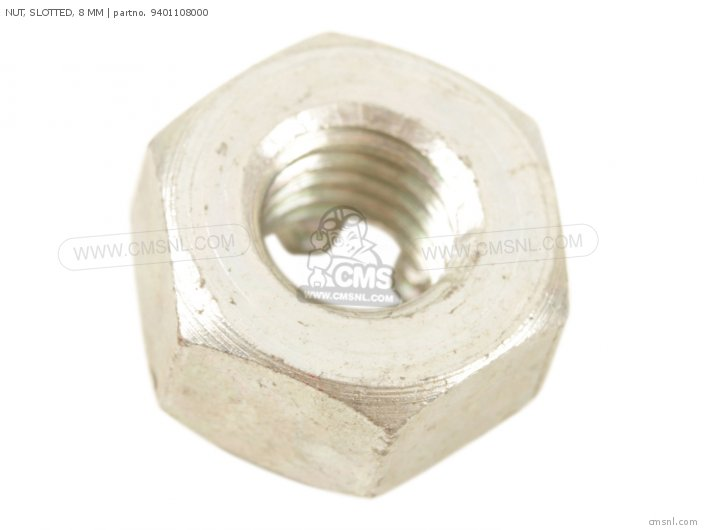 Nut, Slotted, 8 Mm photo