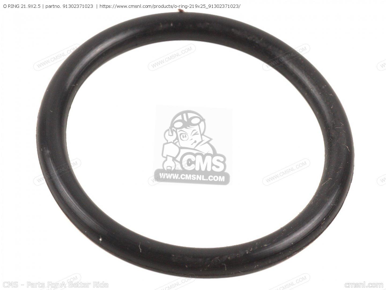 21.9x2.3 New 91302-371-013 Gold Wing Honda O-Ring