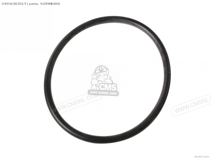 O-ring,58.5x3.5 photo
