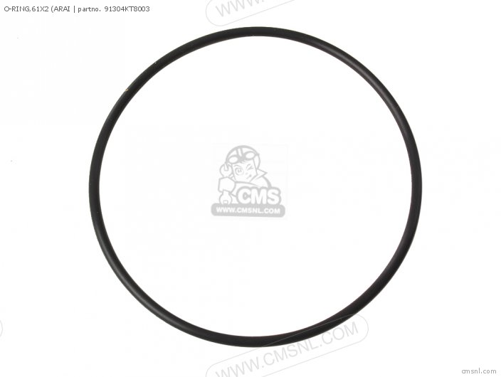 O-ring,61x2 (arai photo
