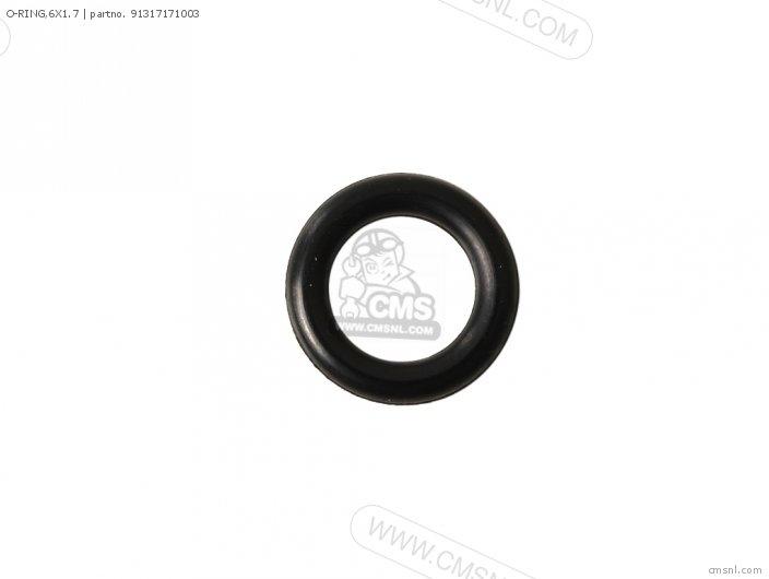 O-ring,6x1.7 photo