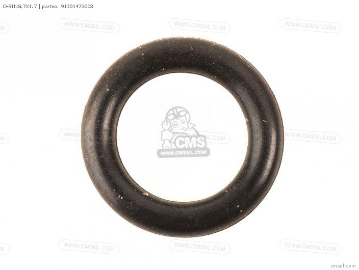 O-ring,7x1.7 photo