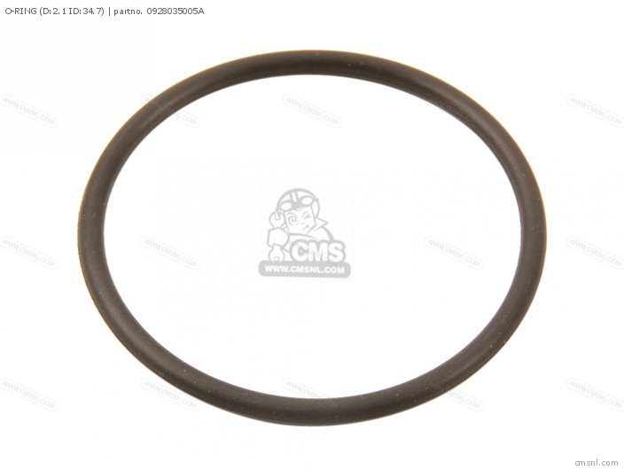 O-ring (d:2.1 Id:34.7) photo