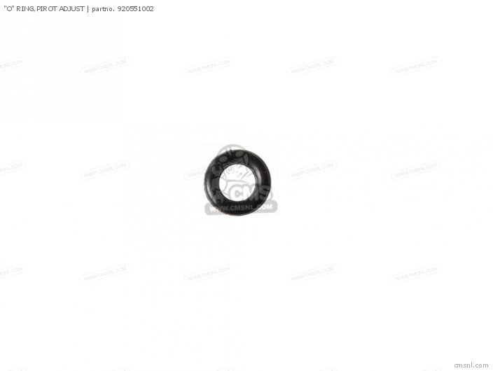 O-RING PILOT ADJUSTER