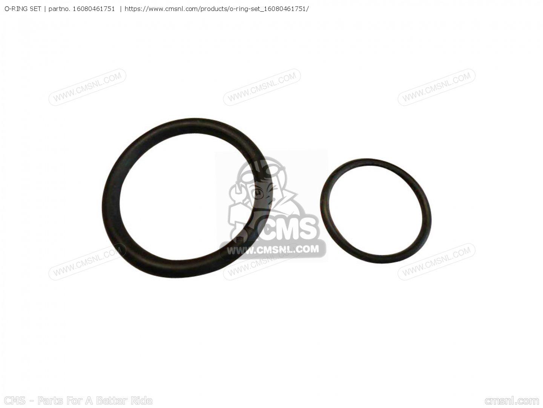 o ring set cb900fc bol d 39 or 16080461751. Black Bedroom Furniture Sets. Home Design Ideas
