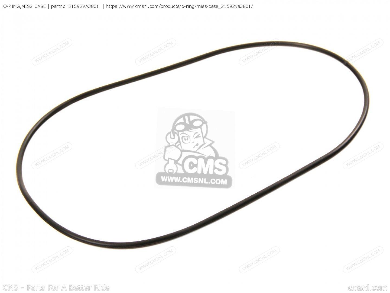Honda 21592-VA3-801 O-Ring Trans Case