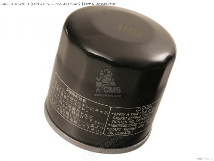 Oil Filter Cartri  (non O.e. Alternative) (meiwa) photo