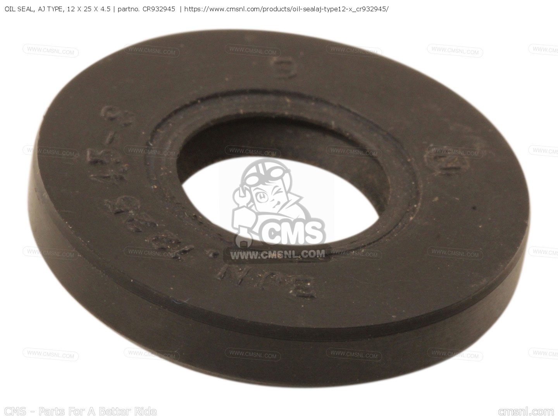 Oil Seal 25 x 12 x 4.5