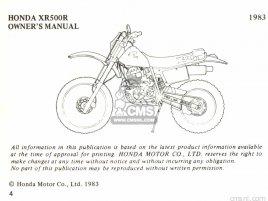 OM XR500R