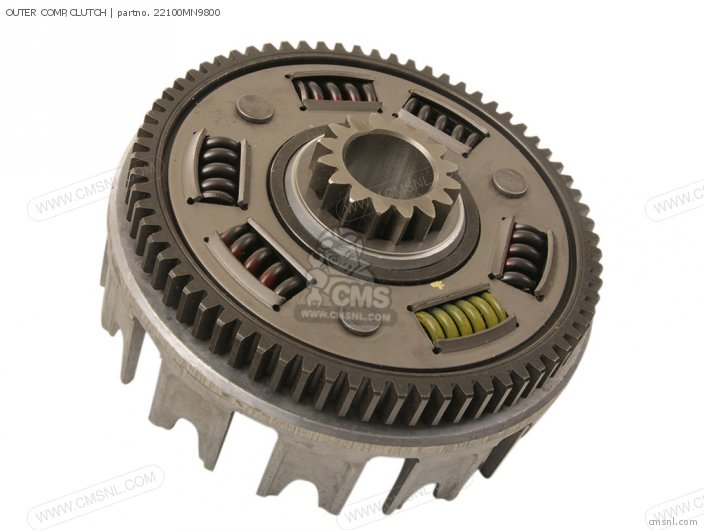 XL600R 1985 F USA OUTER COMP CLUTCH