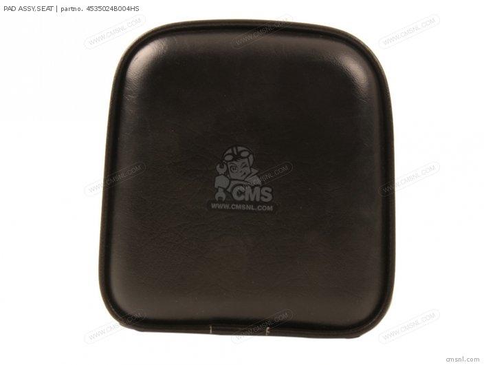 PAD ASSY SEAT