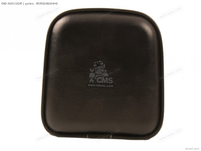 Pad Assy, Seat photo