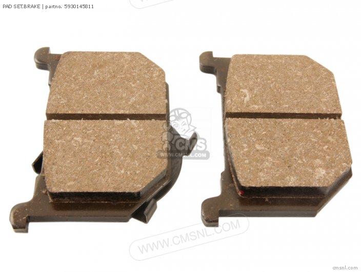 Pad Set, Brake (mca) photo