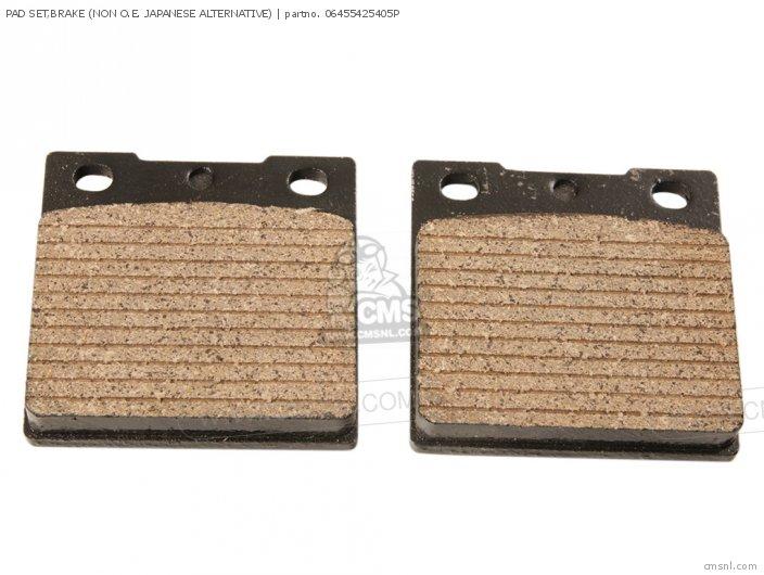 Pad Set, Brake (non O.e. Japanese Alternative) (mca) photo