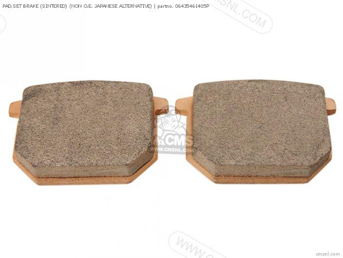 Pad, Set Brake (sintered) (non O.e. Japanese Alternative) (nas) photo