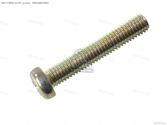PAN SCREW 6X35