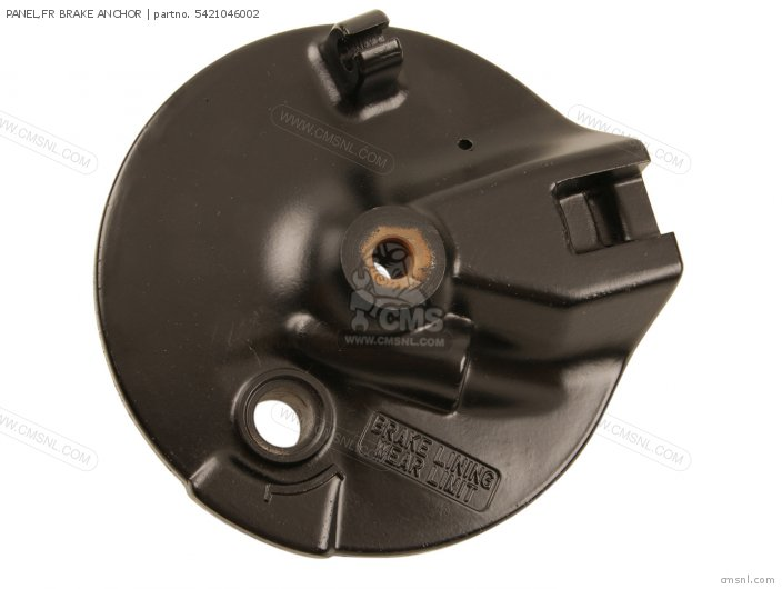 RM50 1979 N PANEL FR BRAKE ANCHOR