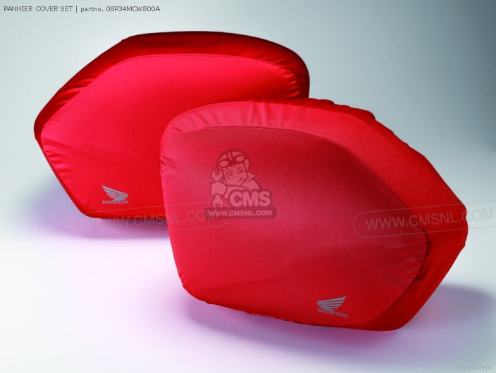 Xl1000v Varadero 2007 7 Pannier Cover Set