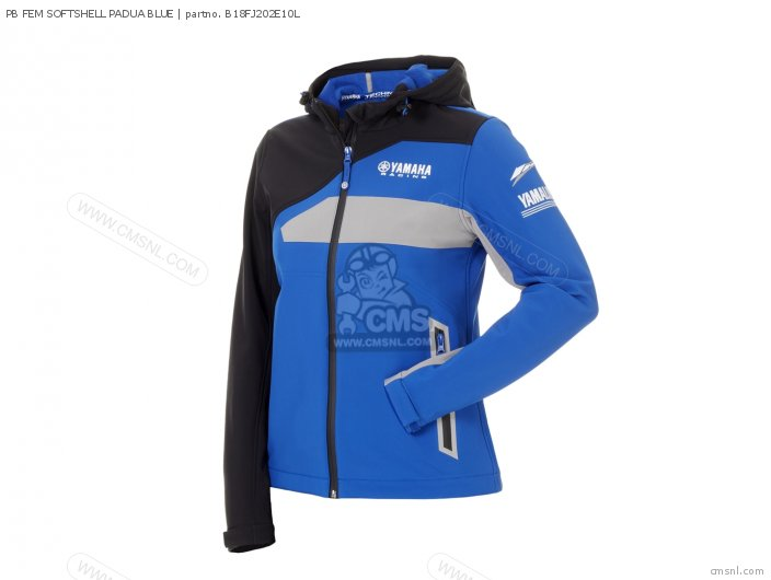 Pb Fem Softshell Padua Blue photo