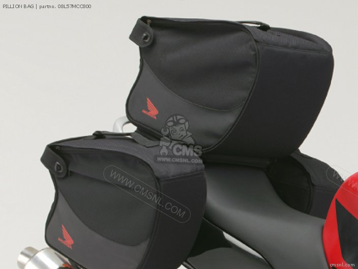 Cbr600f Pillion Bag