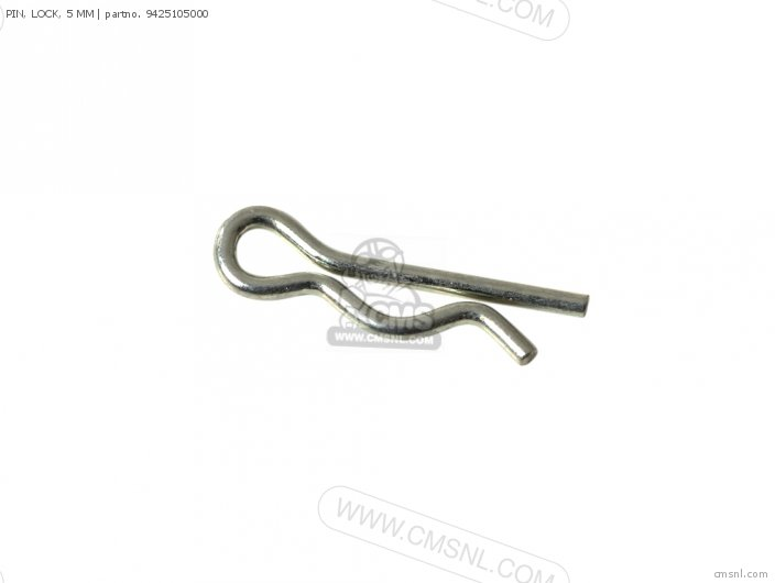 PIN, LOCK, 5 MM