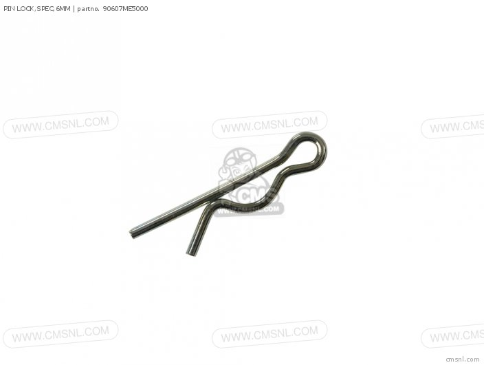 PIN LOCK,SPEC,6MM