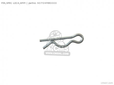 PIN,SPEC LOCK,6MM