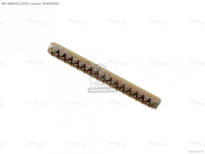 PIN,SPRING,2.5X25