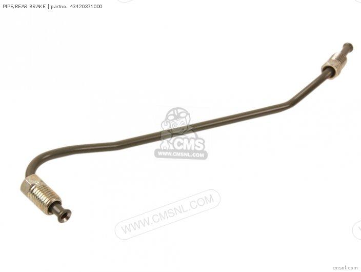 Pipe, Rear Brake photo