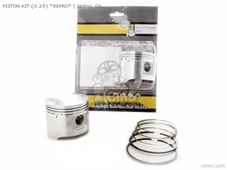 Gl1000 Gold Wing 1978 Usa Piston Kit 0 25 non O e  Alternative