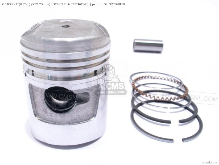 PISTON KIT0 25  Ø 39 25 mm NON O E  ALTERNATIVE