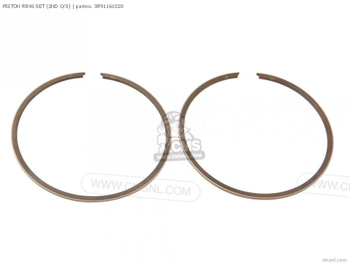 PISTON RING SET (2ND O/S)