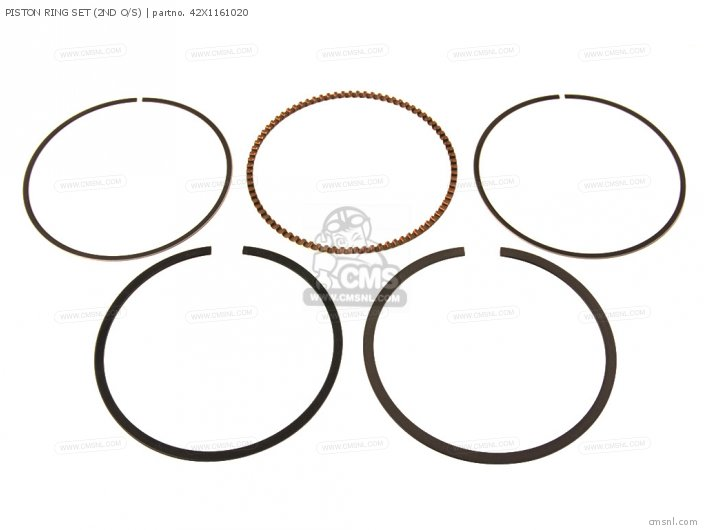 PISTON RING SET 2ND O S