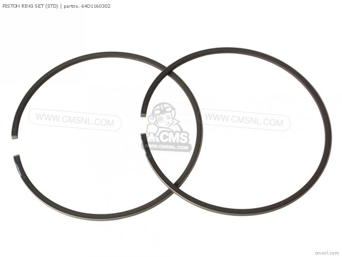 150 175 200trq 1992 Piston Ring Set std