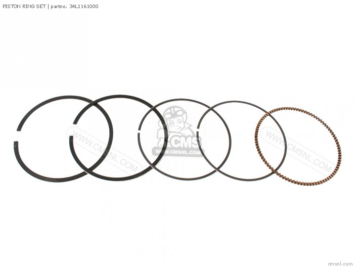 Piston Ring Set For Xt600 Dual Purpose 1986 G Usa