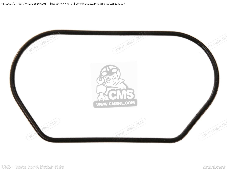 Honda 16139-Z0A-004 Cover Set Air Vent